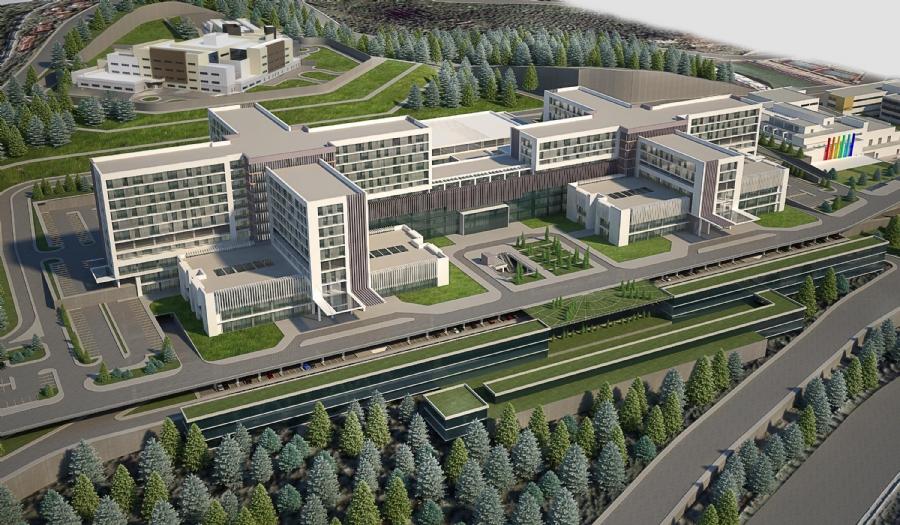 kocaeli şehir hastanesi ile ilgili görsel sonucu